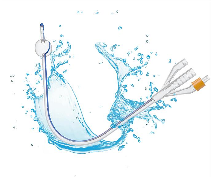 Sterile urethral catheter for single use